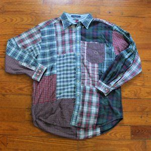 Tommy Hilfiger Patchwork Button down Shirt
